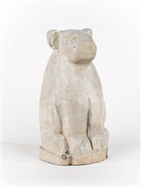 untitled - bear sculpture by bruce armstrong
