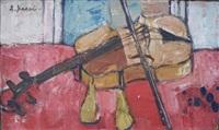 nature morte au violon by seiichi kasai