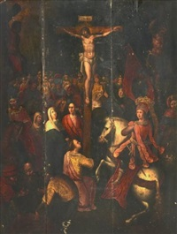 la crucifixion by louis de caullery
