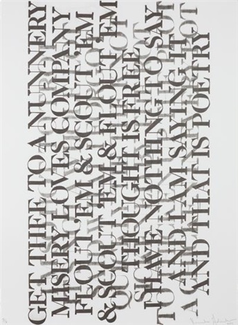 Untitled From Selections From 73 Poems By Kenneth Goldsmith