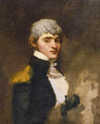 portrait of jerome bonaparte, youngest brother of napoleon bonaparte, first consul of france by gilbert stuart