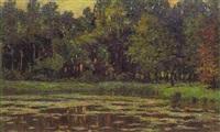 waldlandschaften by georg lemm