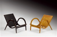 fauteuils (pair) by walter senn
