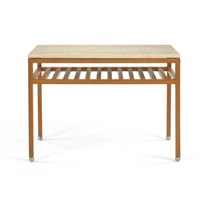 double linear occasional table by hugh newell jacobsen