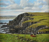 cattle grazing by eugene conway