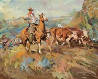 bell ranch wrangler by frank b. hoffman