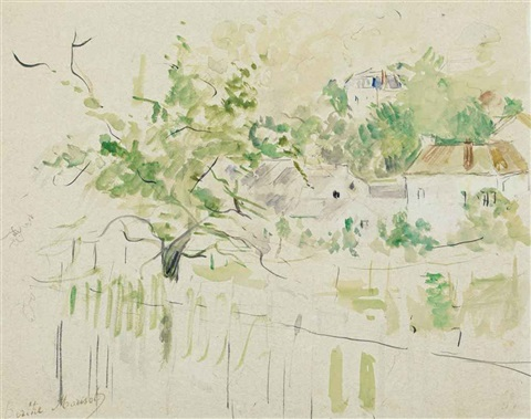 bougival by berthe morisot