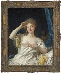 bildnis einer sitzenden dame by jean françois gilles colson