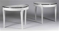 console tables (pair) by limoges