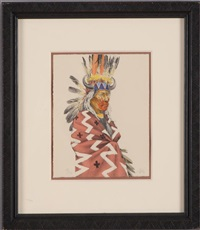 plains indian chief by paul pletka