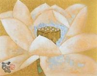荷花 by lin lan