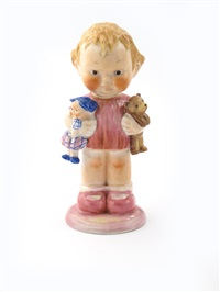 ise goin' ta-ta nursery figure by mabel lucie attwell