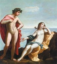 bacchus und ariadne - bacco e arianna by francesco giovanni gessi