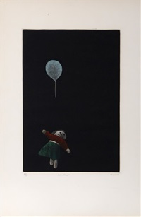 doll and balloon by tomoe yokoi