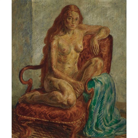 nude terra cotta by john french sloan