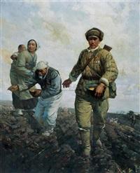 on the battleground by lian nanning