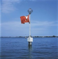 flag, venice by li wei
