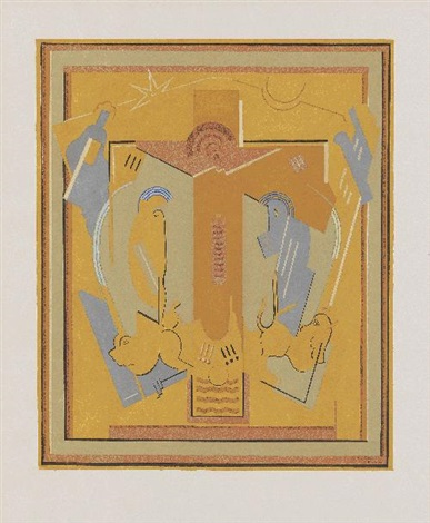 crucifixion by albert gleizes