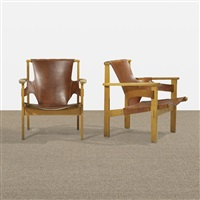 trienna armchairs (pair) by carl-axel acking