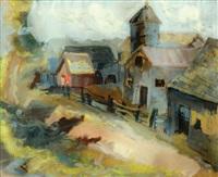 landscape by mané-katz