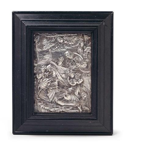a silver renaissance relief