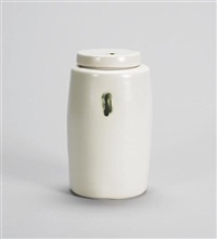 a lidded jar by edmund de waal