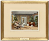 an interior at belmont, bern by fanny holden