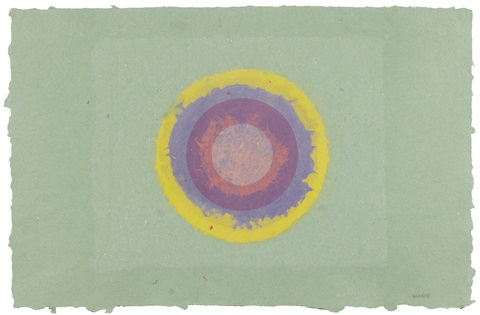 i 10 from circle ii series by kenneth noland