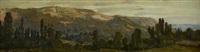 côteau de coudehart, normandie by auguste paul charles anastasi