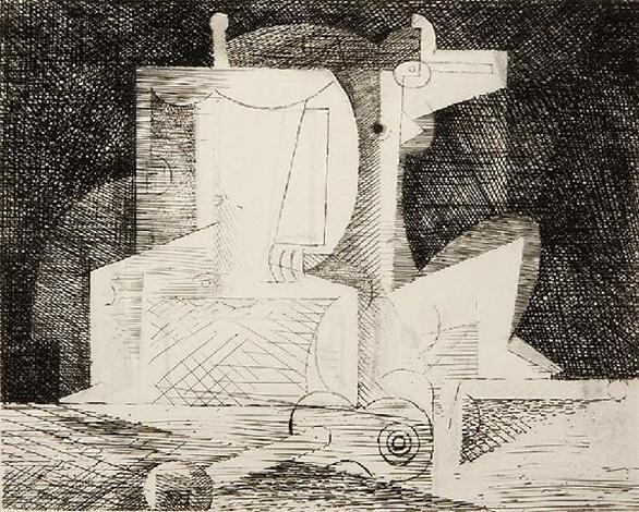 cherchant la fortune (various works) by louis marcoussis