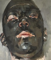 blackface mask by paul mcphail
