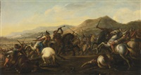 battle scene by salvator rosa