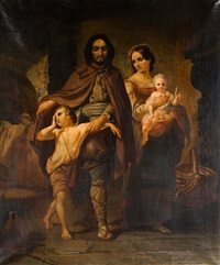 portrait de famille by jean baptiste van eycken
