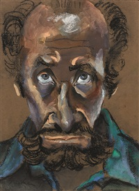 self portrait by albert lee tucker