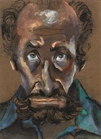 self portrait by albert lee tucker