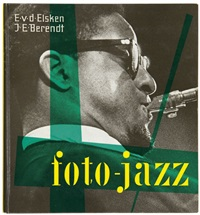 foto-jazz (bk w/109 works, folio) by ed van der elsken