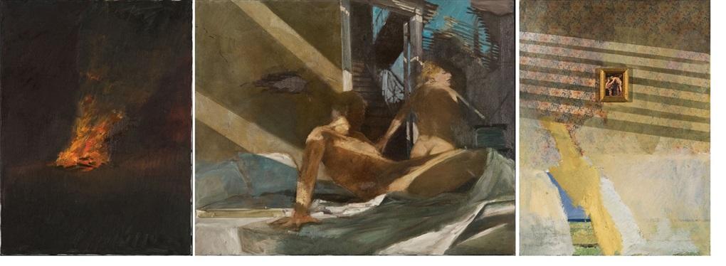 untitled triptych various sizes by adam cvijanovic