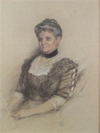 portrait of anna marguerite achelis by rosina emmet sherwood