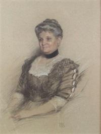 portrait of anna marguerite achelis by rosina emmet sherwood