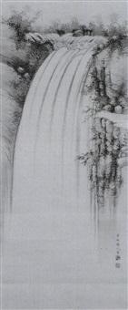 der nachi-wasserfa;; by sawa gokyo