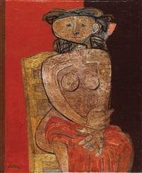 nude figure by jankel adler