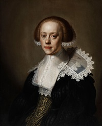 portrait einer jungen frau by johannes cornelisz verspronck