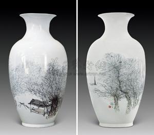 太湖晓色 by zhu daoping