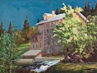 maclaren's mill, wakefield by bruce heggtveit