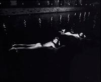sans titre, biarritz, août (bain de minuit) by karl lagerfeld