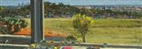 window-view of westridge rd by larry cohen