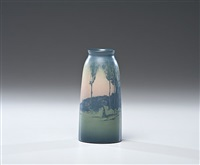scenic vase by sallie (sara elizabeth) coyne