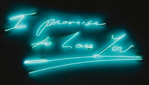 i promise to love you by tracey emin on artnet