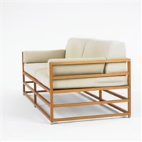 linear sofa by hugh newell jacobsen
