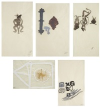 untitled (5 works) by shahzia sikander